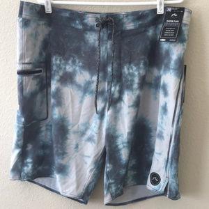Rusty Board shorts, size 38